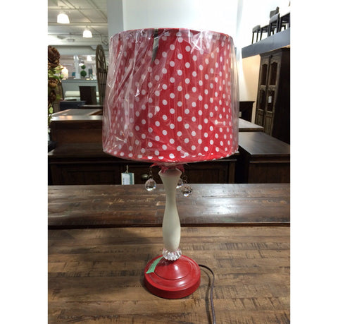 Sale  Polka Dot Lamp. Calgary Furniture   ShowHome Furniture CLEARANCE   Showhome Furniture