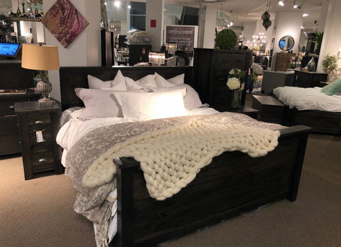 Solid Acacia Wood QUEEN BED