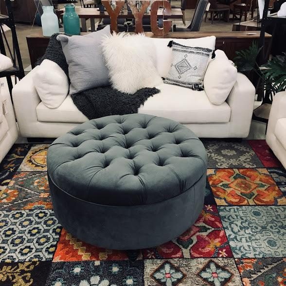 ASTORIA OTTOMAN CUSTOM MADE IN CANADA  BY ELITE | Showhome Furniture