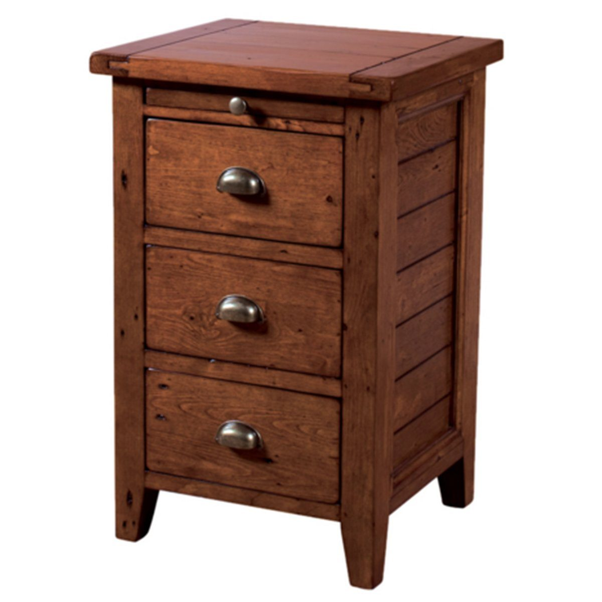Irish Coast Nightstand 3 Drw - African Dusk nightstands LH
