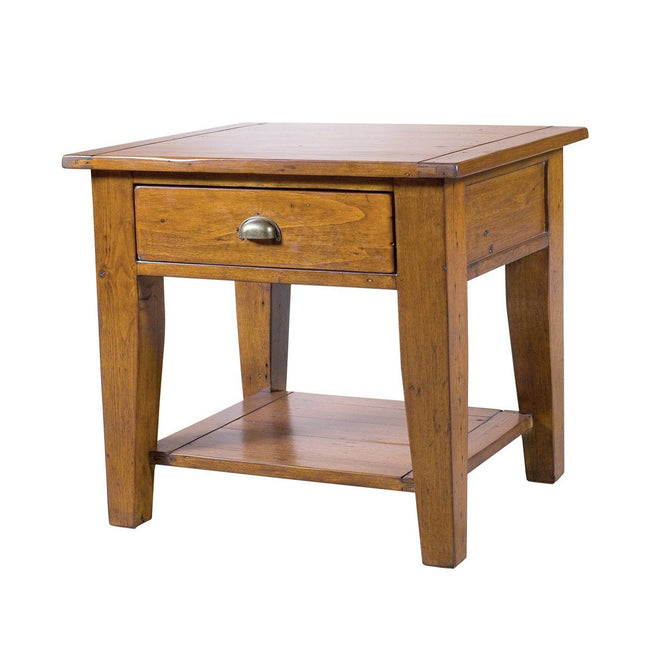 Irish Coast Regular End Table - African Dusk End Table LH