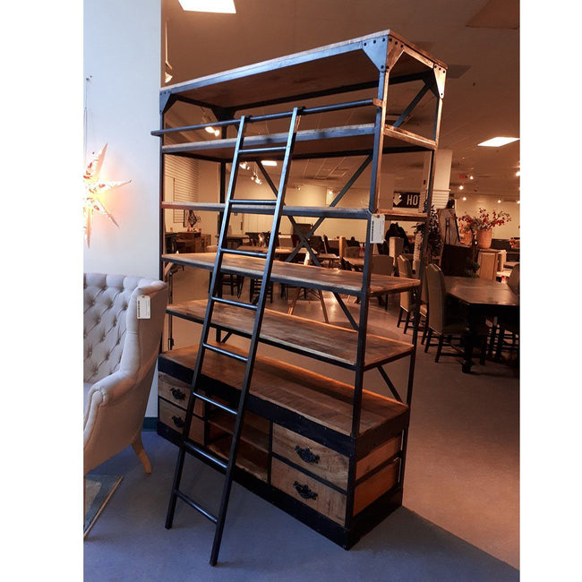 Iron Large Library Bookcase
