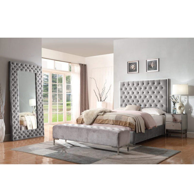 Lacey Complete Upholstered Bed | Calgary's Furniture Store