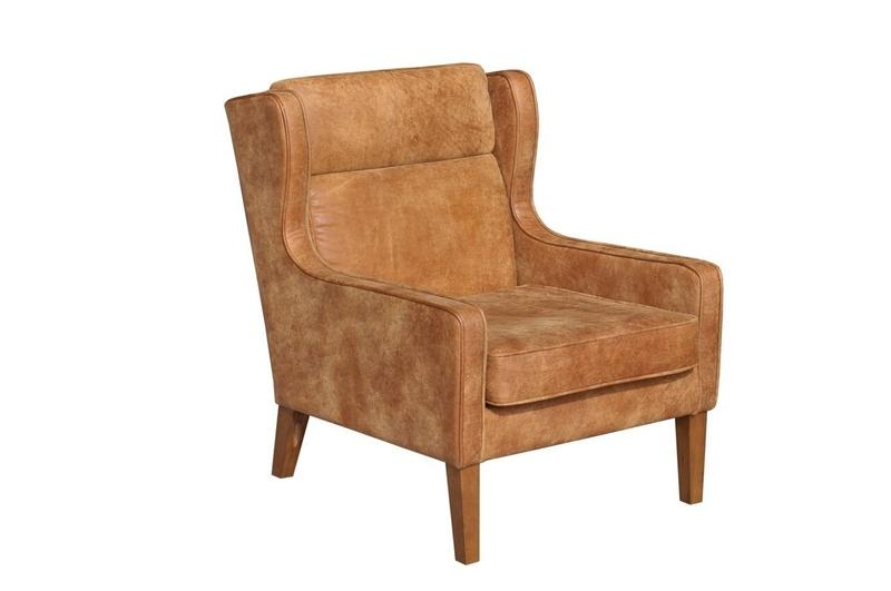 Las Vegas Cosmo Chair - Outback Tan | Calgary's Furniture Store