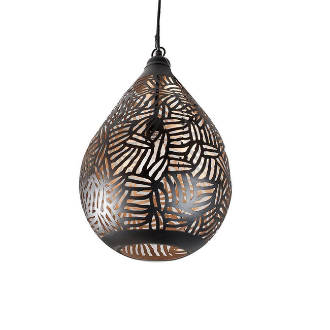 LH Zeta Pendant - Black and Gold - Showhome Furniture