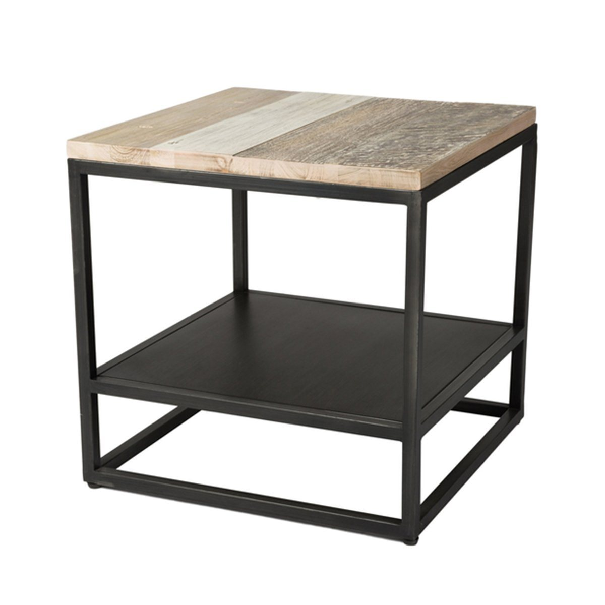 SOLID ACACIA WOOD METRO HAVANA END TABLE - Showhome Furniture
