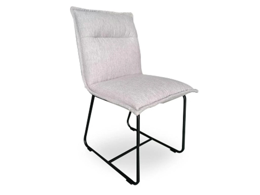 Mapleton Dining Chair in Twill Grey | Calgary's Furniture Store