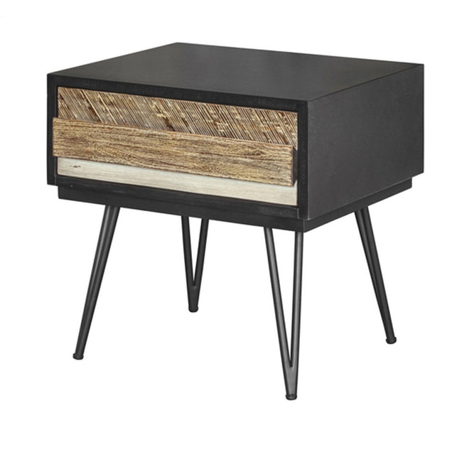 NOIR HAVANA NIGHTSTAND - Showhome Furniture