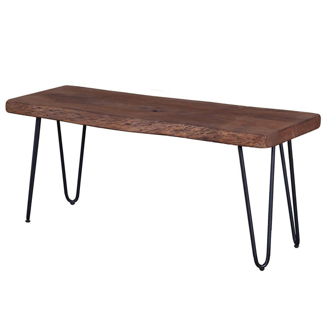 SOLID ACACIA WOOD Organic Bench Benches Showhome Furniture