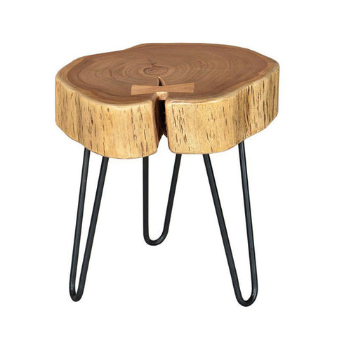SOLID ACACIA WOOD Organic Side Table - Showhome Furniture
