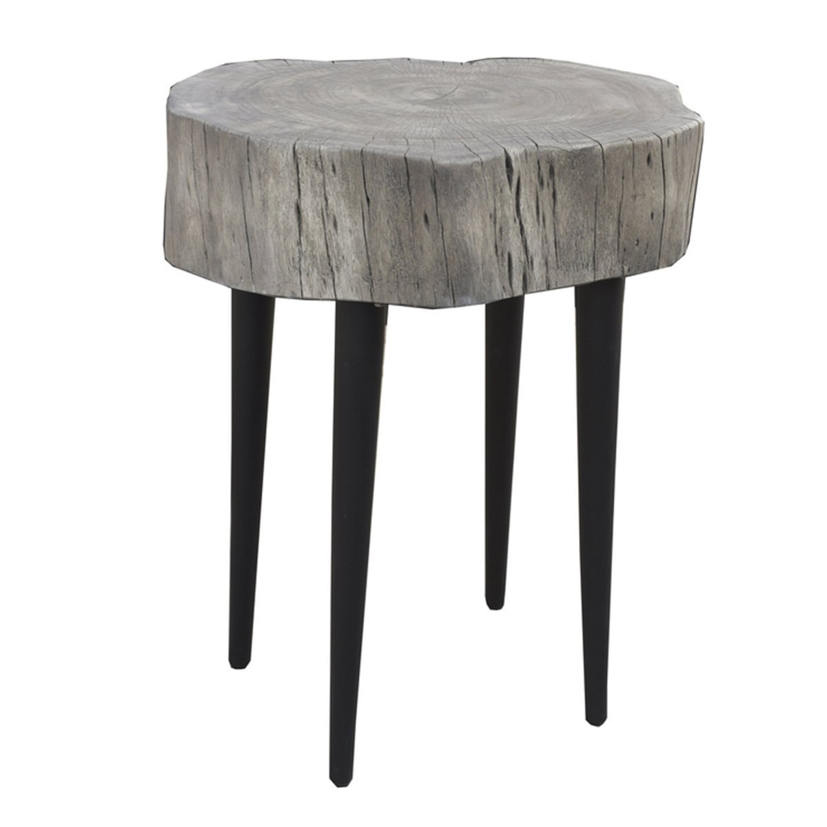 SOLID ACACIA ORGANIC TRUNK BISTRO TABLE - Showhome Furniture