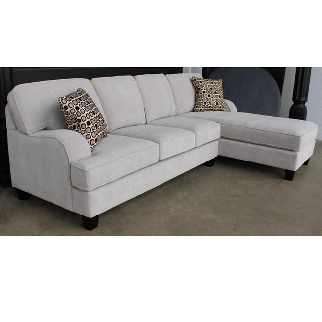 Philly 2 Piece Sofa Chaise Sectional - Made in Canada Sofas Elite