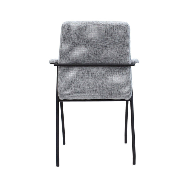 RETRO DINING CHAIR - LIGHT GREY TWEED Dining Chairs Lh imports