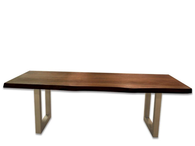 "Riverside Solid Wood Live Edge Table (54"" 76"" 94"")"