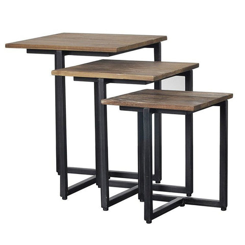 Set of 3 Side Tables - Showhome Furniture