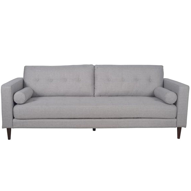 QUINN GREY LINEN SOFA CUSTOM CANADIAN BY LH IMPORTS Showhome Furniture