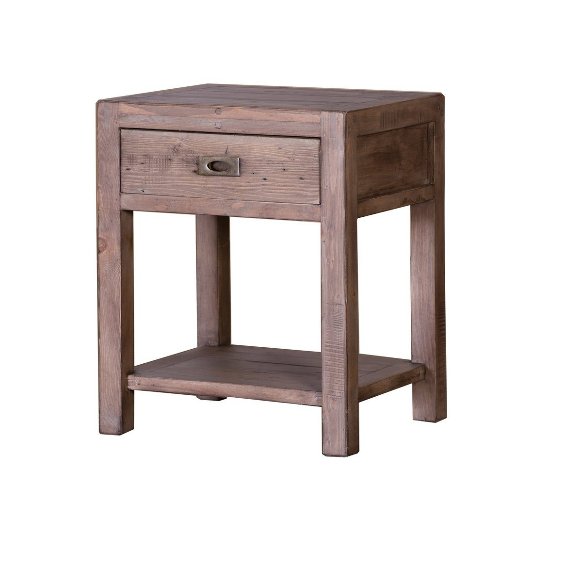 Small End Table - Sundried Ash Finish | Calgary's Furniture Store
