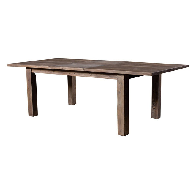 SOLID WOOD LARGE EXTENSION SUNDRIED DINING TABLE - Showhome Furniture