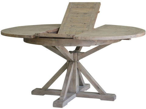 Woodanville - Round DRM Drop Leaf Table