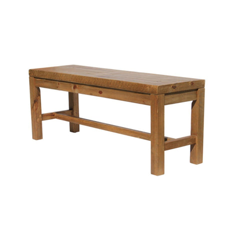 Solid Wood Bench- Sundried