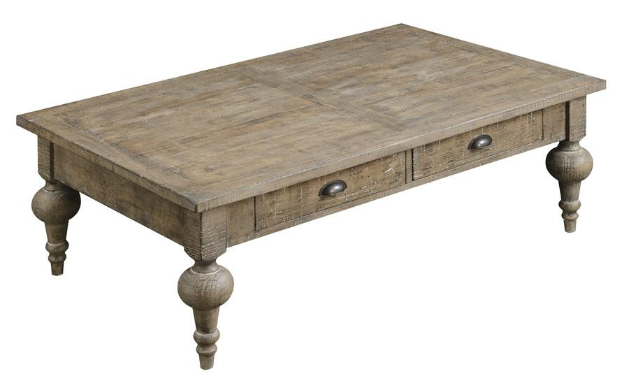 Interlude Cocktail Table - Sandstone - Emerald Coffee Table Emerald Home