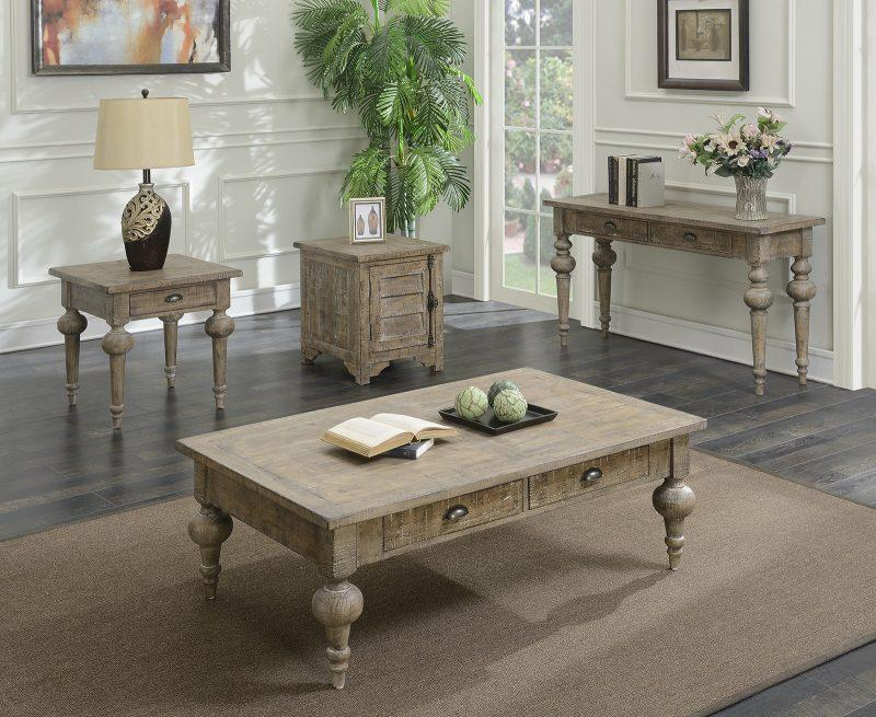 Interlude Sofa Table - Sandstone - Emerald Console Tables Emerald Home