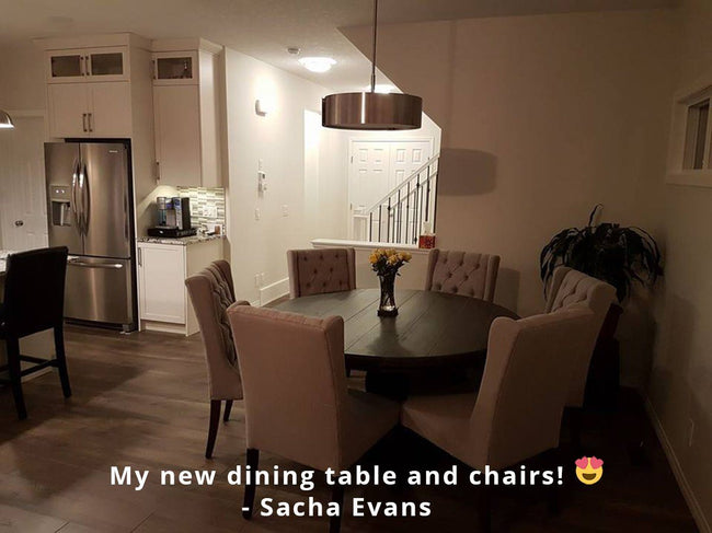 Sundried Round Dining Table | Showhome Furniture