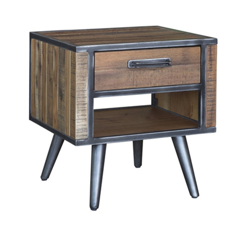 Solid Walnut Hardwood Nighstand Call us and get up to 25% off this item. 403.460.8114