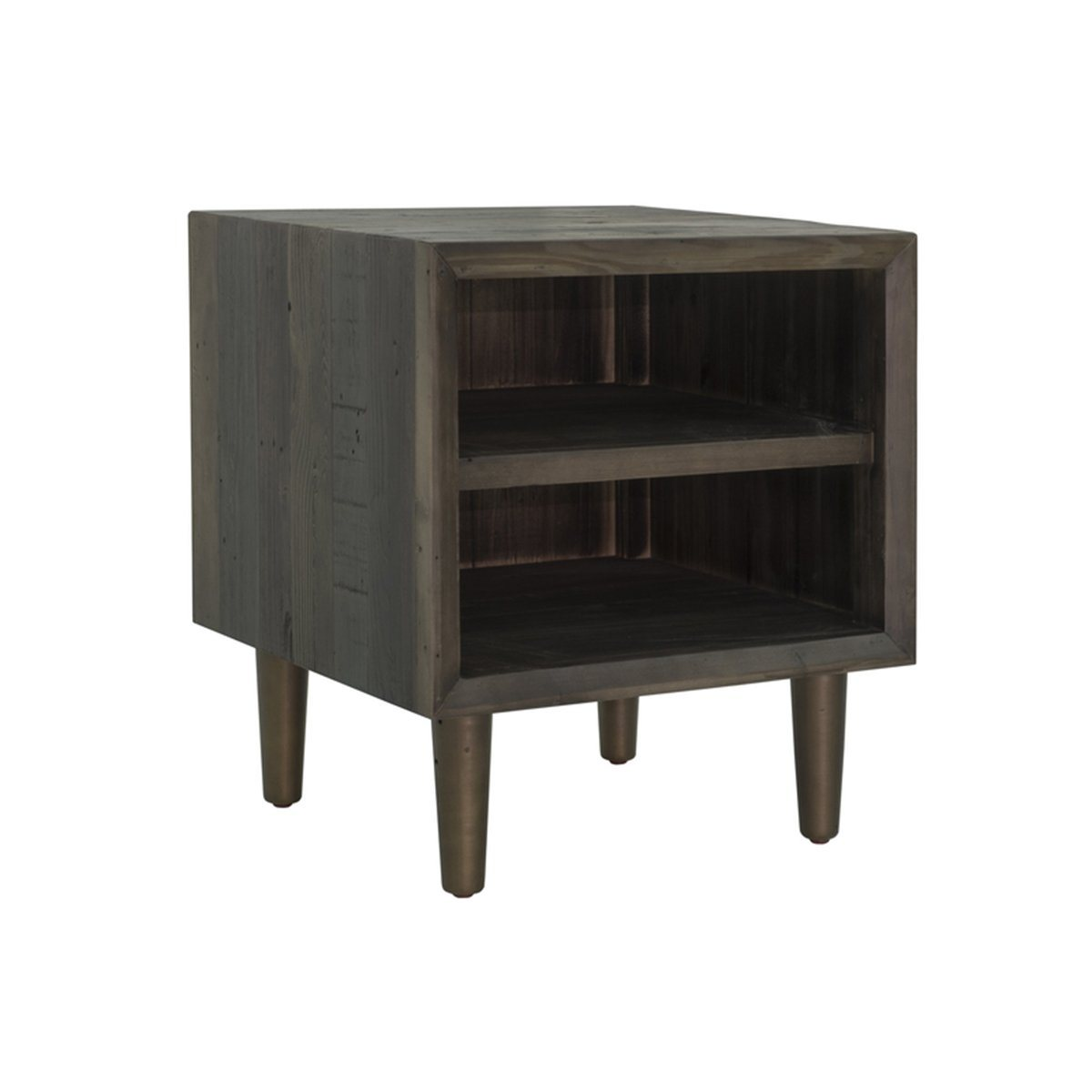 MERCHANT END TABLE - SMOKED GREY - Showhome Furniture