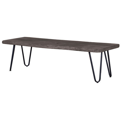 REGULAR EXTENSION DINING TABLE - SUNDRIED