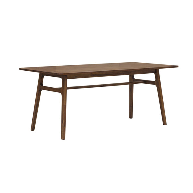 SOLID ACACIA WOOD DINING TABLE - Estelle Brown - Showhome Furniture