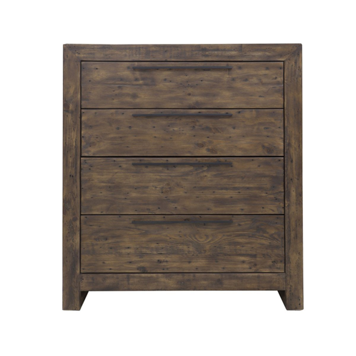 MODERN 4 DRAWER CHEST - COFFEE BEAN - Showhome Furniture