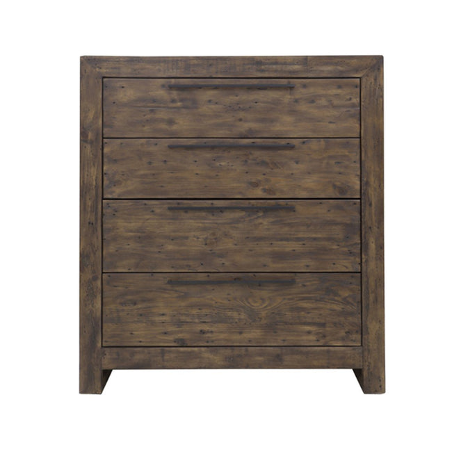 MODERN 4 DRAWER CHEST - COFFEE BEAN Dressers Showhome Furniture