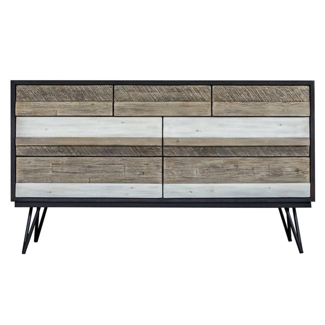 NOIR HAVANA 7 DRAWER DRESSER Dressers Showhome Furniture
