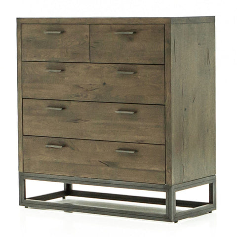 Woodcraft Modern Solid Wood 6 Drawer Dresser