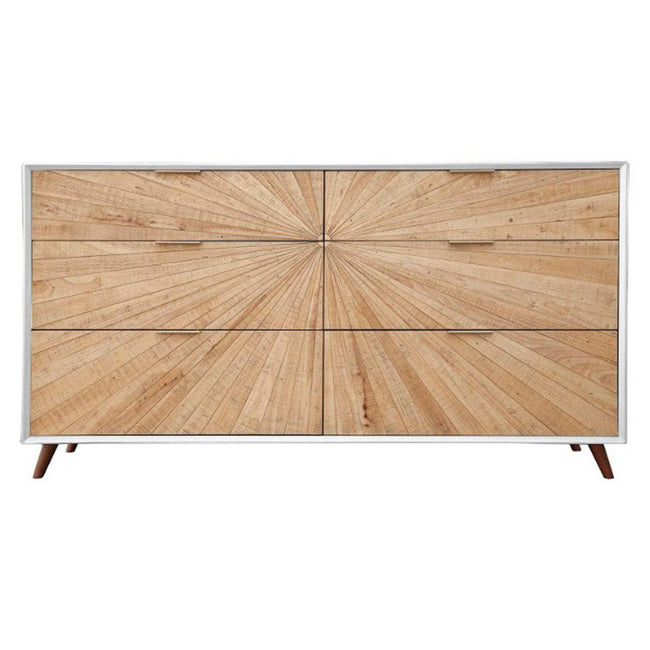 CASABLANCA 6 DRAWER DRESSER - Showhome Furniture