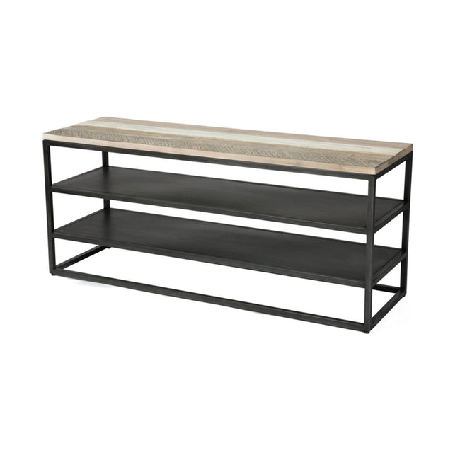 solid Acacia TV UNIT - Showhome Furniture