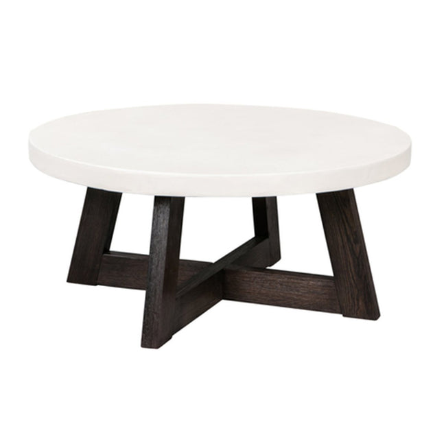 MANCHESTER ROUND COFFEE TABLE - Showhome Furniture