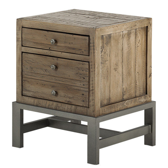 SANTA FE NIGHTSTAND - RUSTIC TAUPE - Showhome Furniture