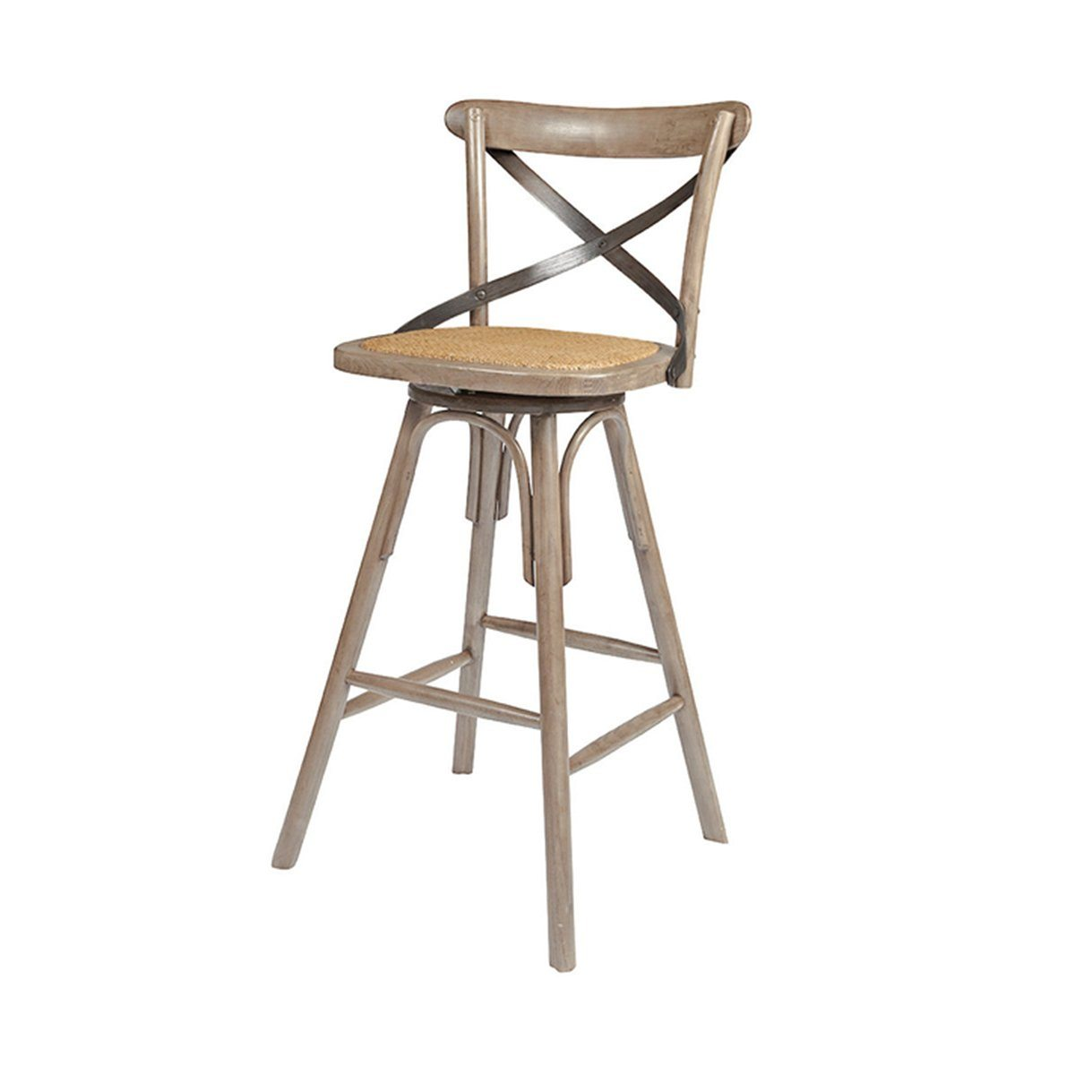 CROSSBACK COUNTER STOOL - SUNDRIED - Showhome Furniture