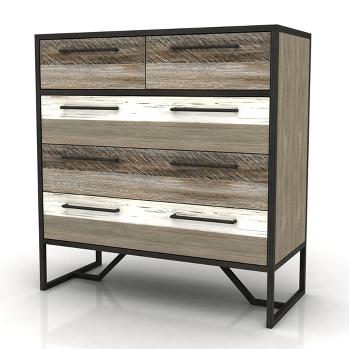 METRO HAVANA 5 DRAWER CHEST - Showhome Furniture