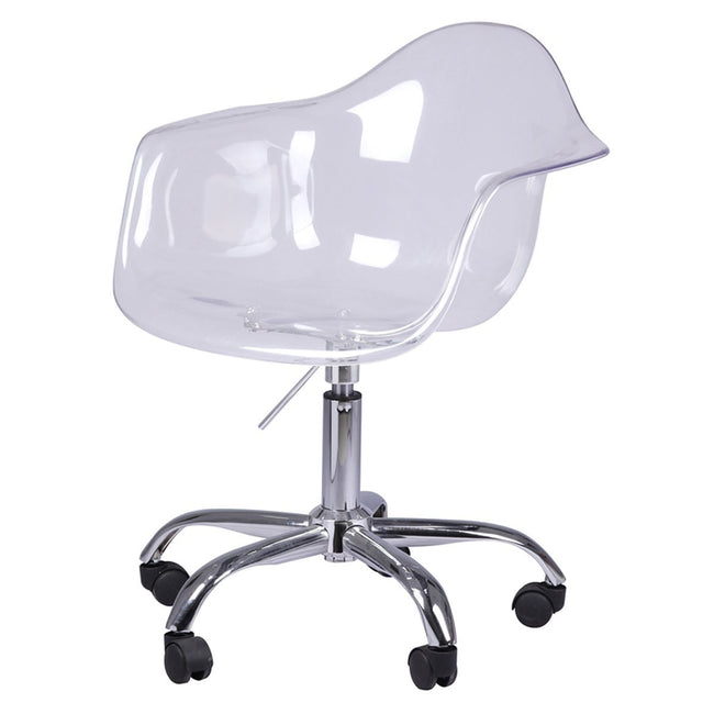 CAPTAIN TUB SWIVEL CHAIR - TRANSPARENT Chairs LH