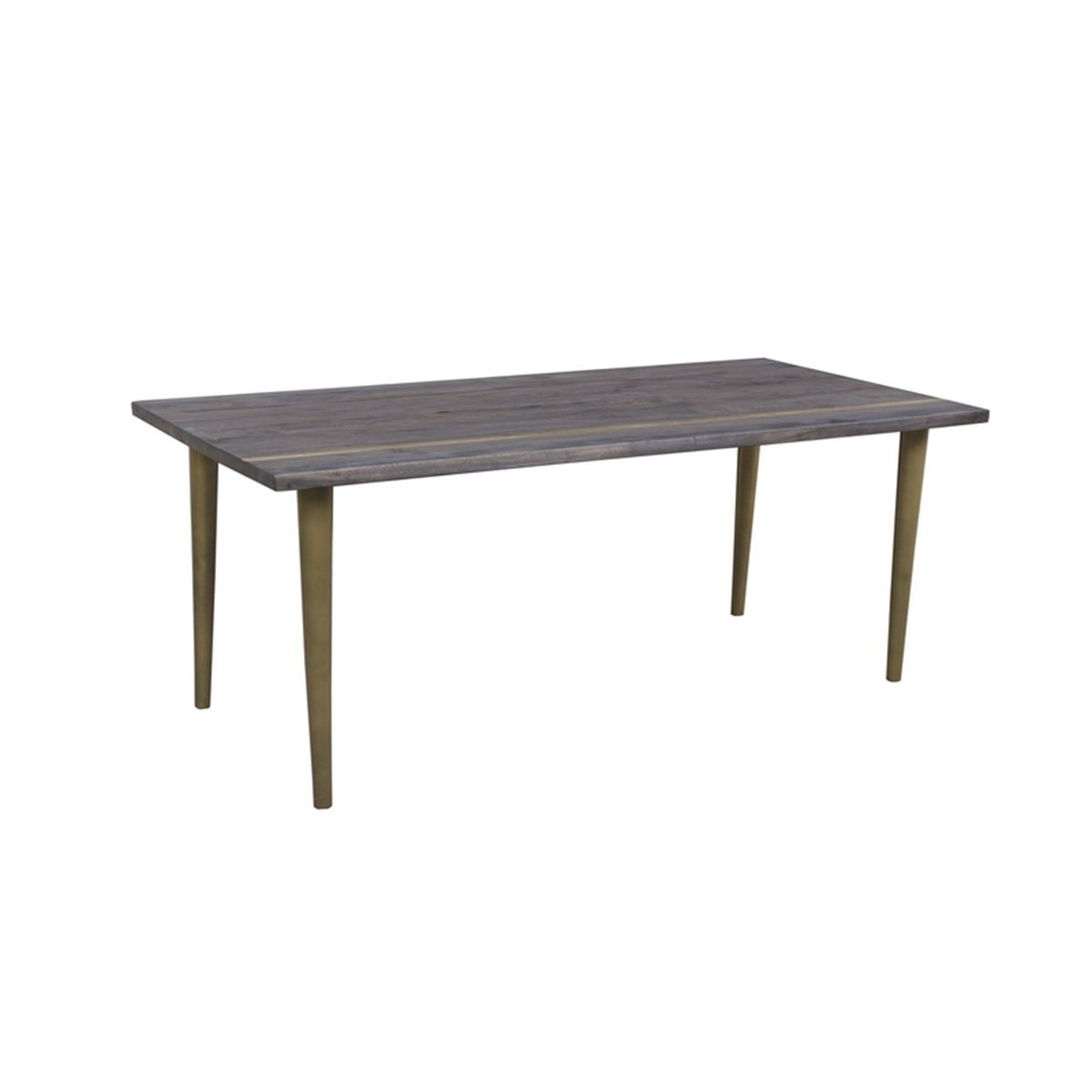"Solid Acacia wood DINING TABLE 94"" - Showhome Furniture"