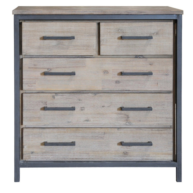 IRONDALE 5 DRAWER DRESSER - Showhome Furniture