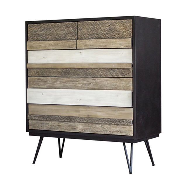 NOIR HAVANA 5 DRAWER CHEST Dressers Showhome Furniture