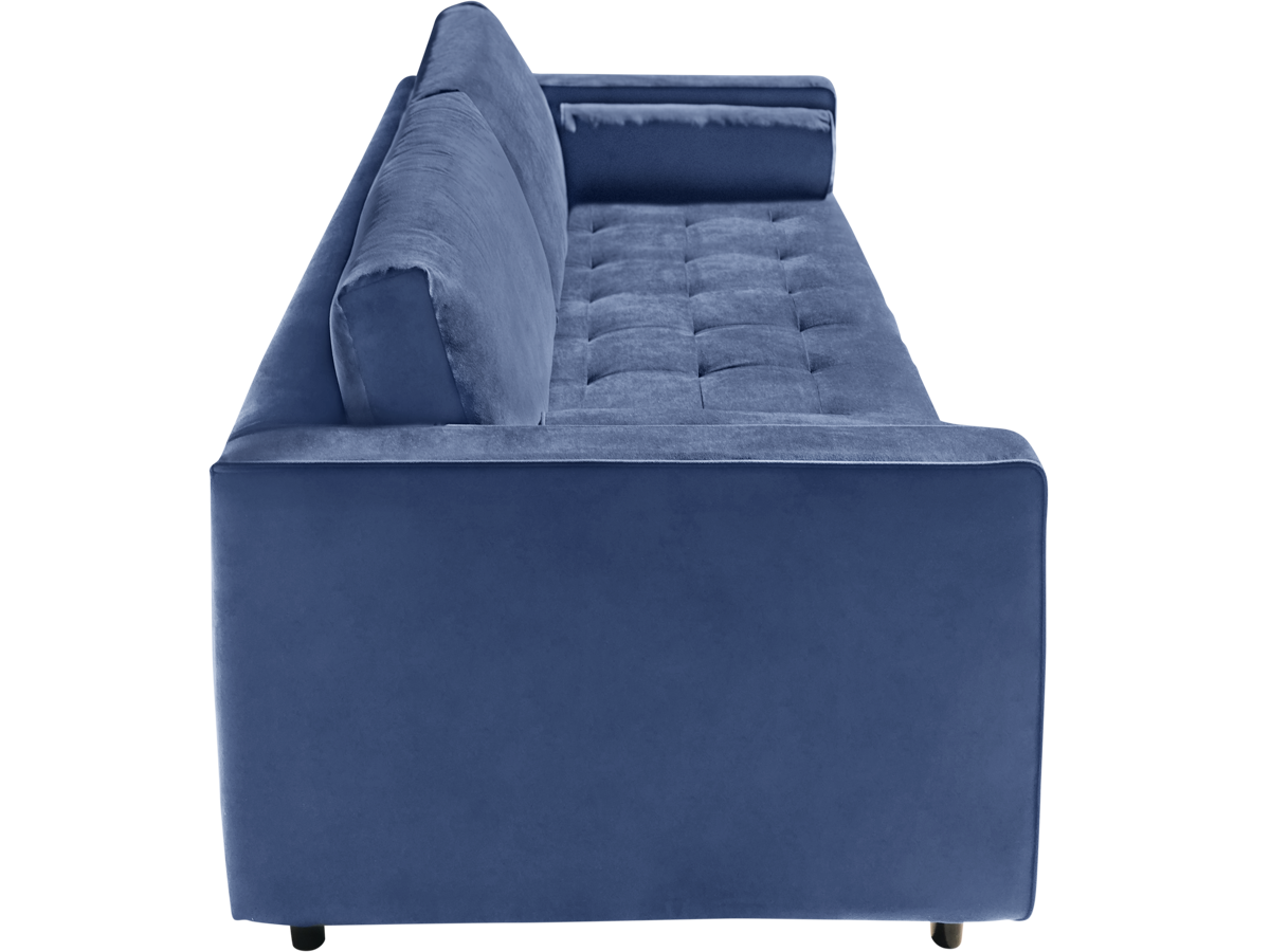 Angela Sofa in Navy Blue, Made in Canada 🇨🇦