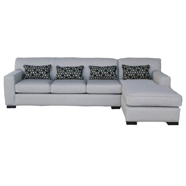 Arsenio Custom Sofa Chaise Sectional - Made in Canada | Showhome Furniture