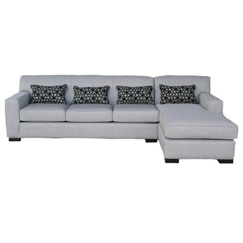 Tracling - Slate -  LAF Corner Chaise, Armless Loveseat & RAF Sofa Sectional