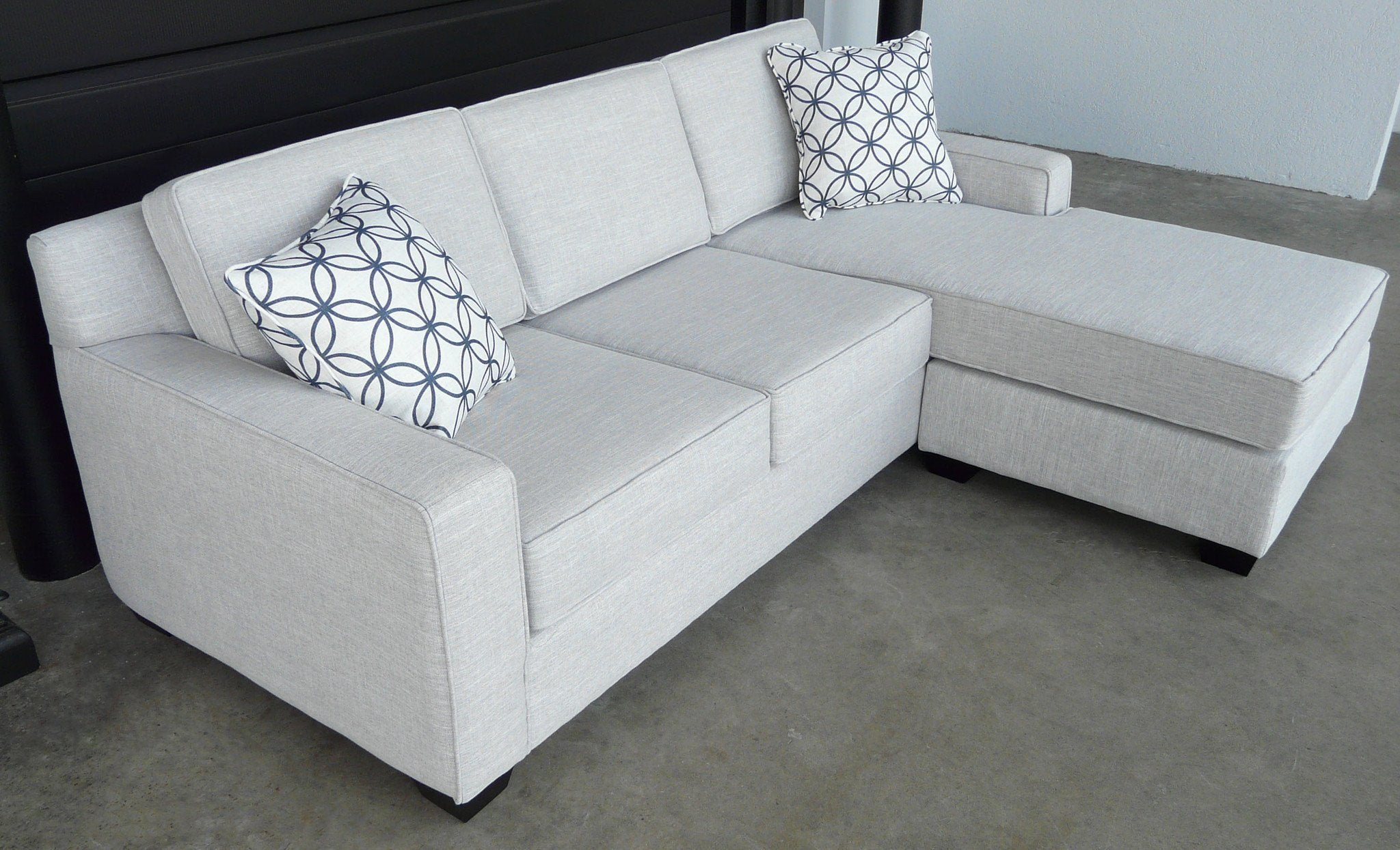 Broadway Sofa with reversible chaise - Calgary Furniture
