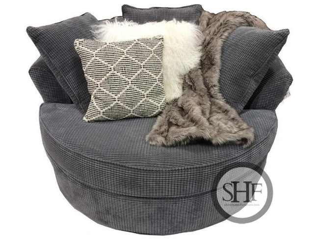 Bubble Charcoal Nest Chair, Made in Canada 🇨🇦 | Calgary's Furniture Store